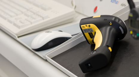 Bar code scanner - Manual scanner for industrial use