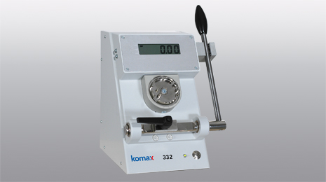 Komax 332 Pull-off force measuring device