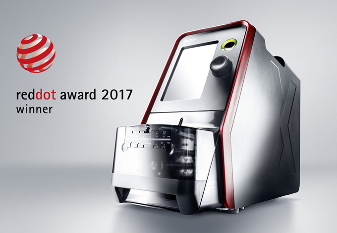 Red dot award for komax s corporate industrial design for Best industrial design companies
